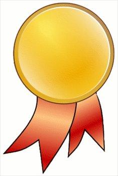 gold star medal clipart-gold star medal clipart-15