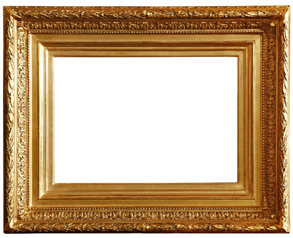 Gold Antique Frame 10 by jeanicebartzen27