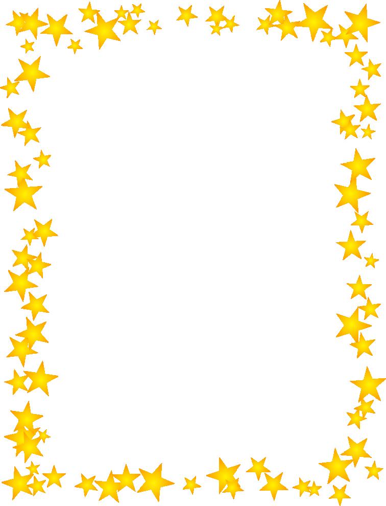 Gold u003cbu003eStarsu003c/bu003e Scattered u003cbu003eBorderu003c/bu003e Free u003cbu003eBordersu003c/bu003e And u003cbu003eClip Artu003c/bu003e