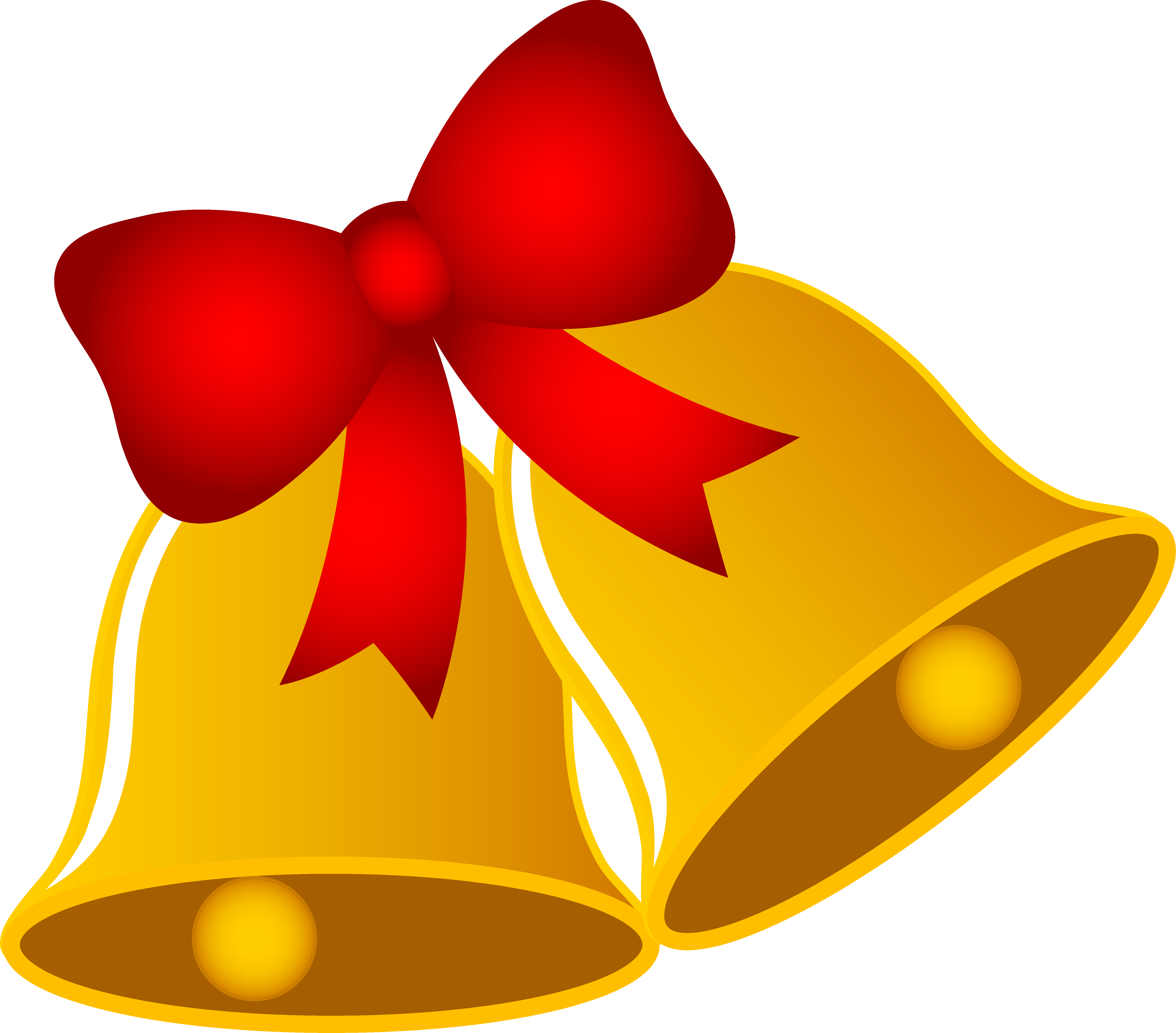 Gold Christmas Bow Clipart .-Gold Christmas Bow Clipart .-12