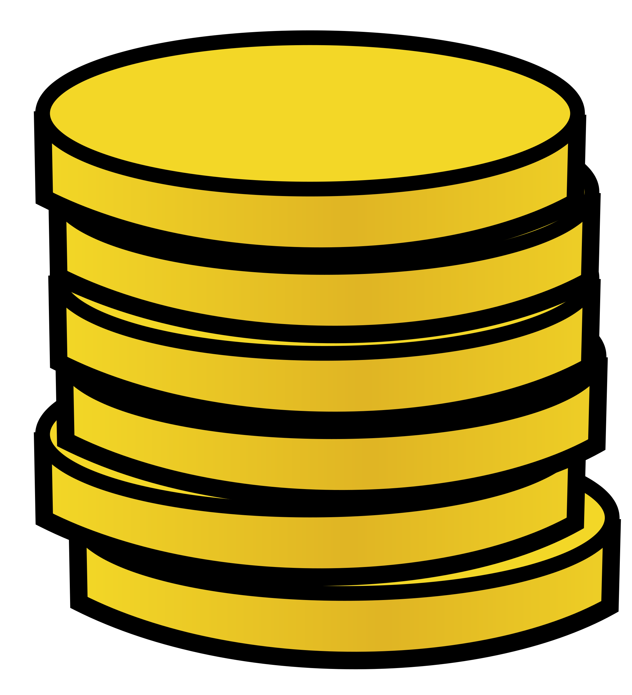 Gold Coin Clipart Clipart Panda Free Clipart Images