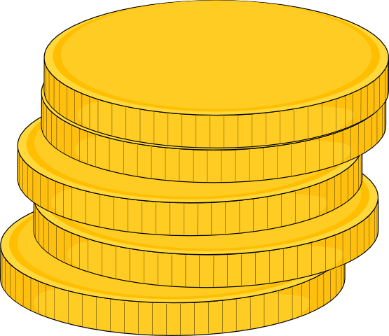 Gold Coin Experts Clipart #1