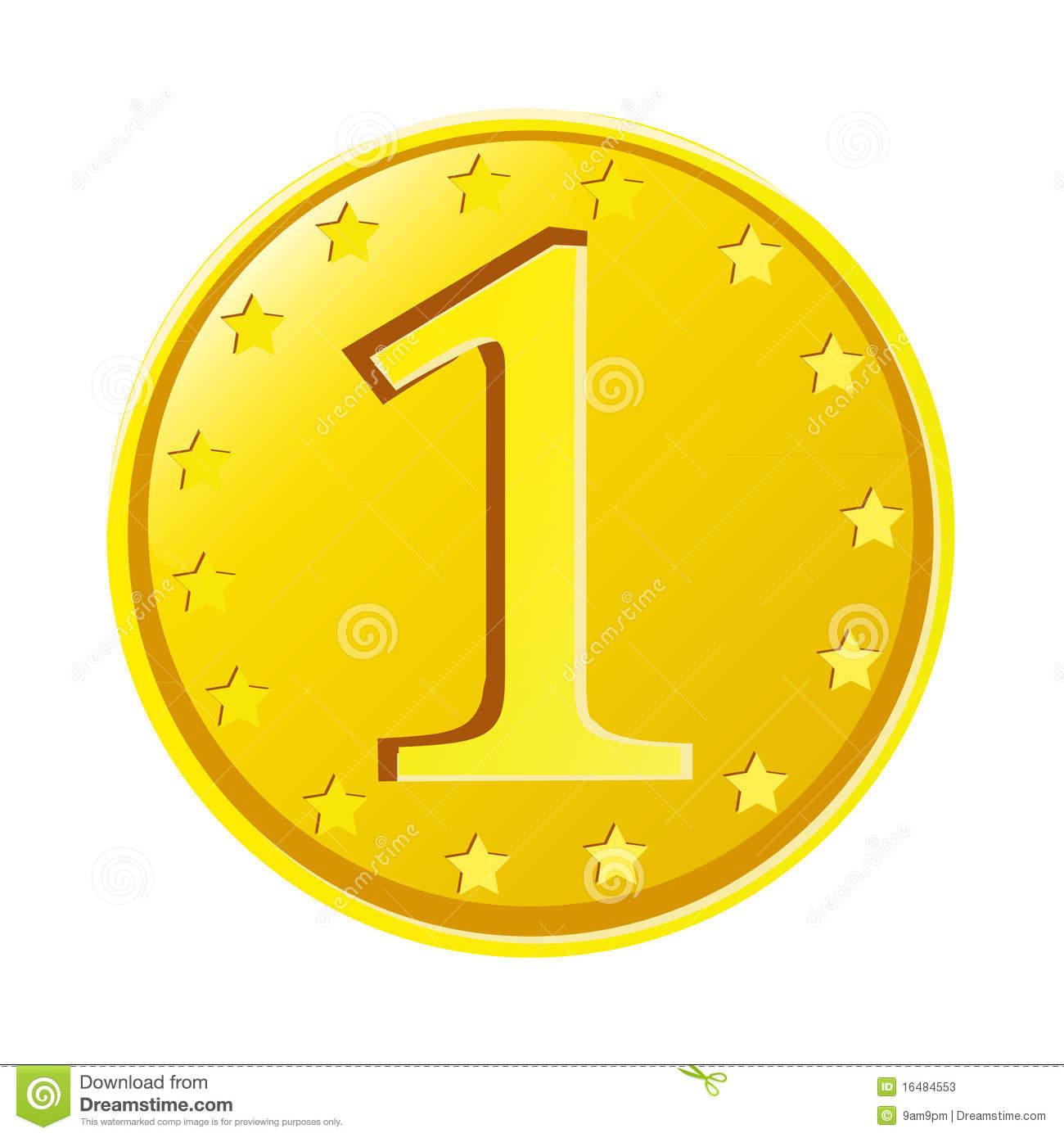Gold Coin Stock Photos Image 16484553