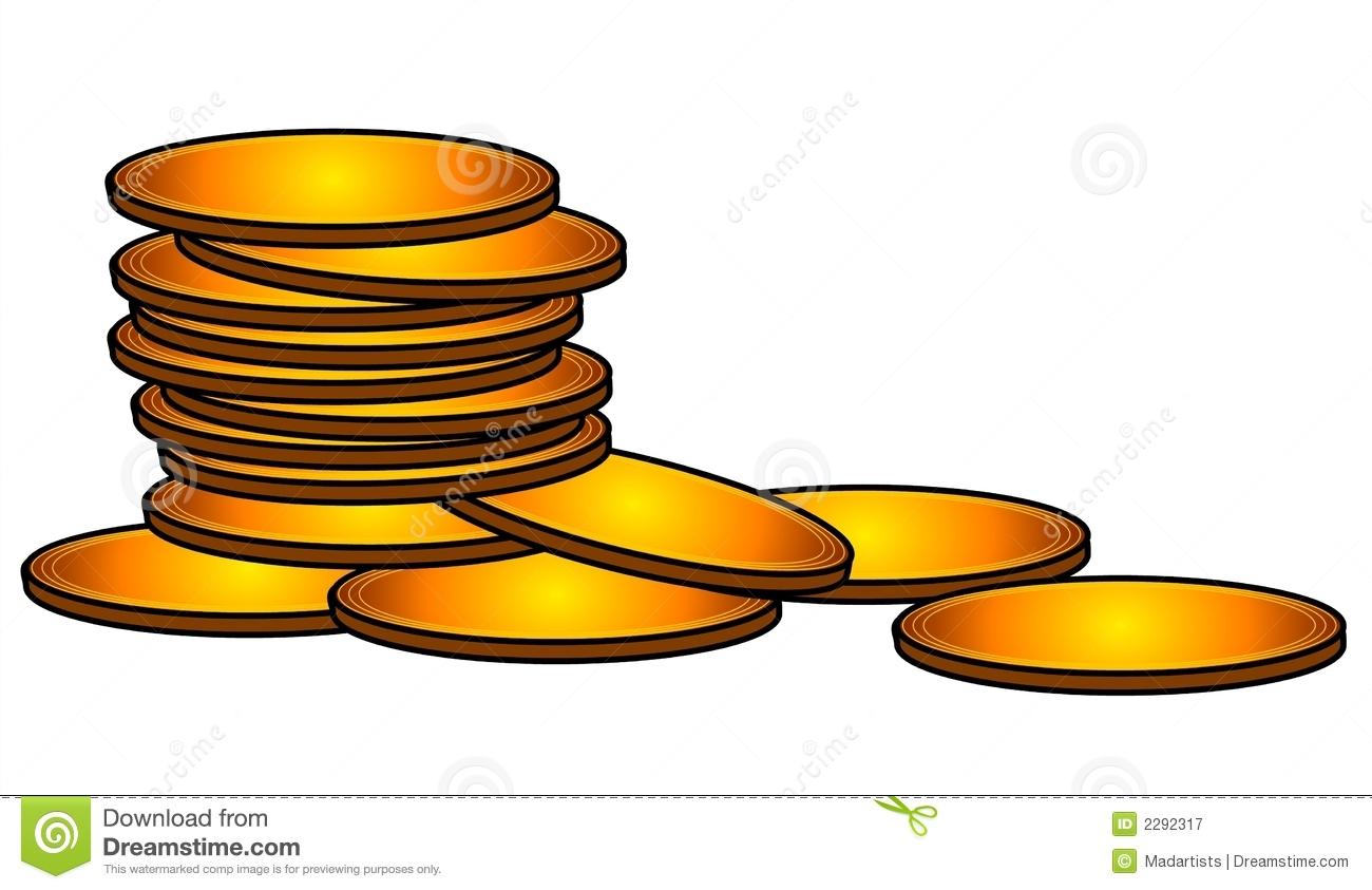 Gold Coins Cash Money Clip Art-Gold Coins Cash Money Clip Art-17