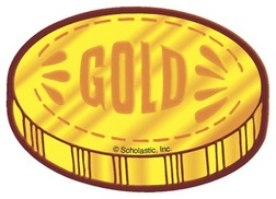 Gold Coins Clipart #1
