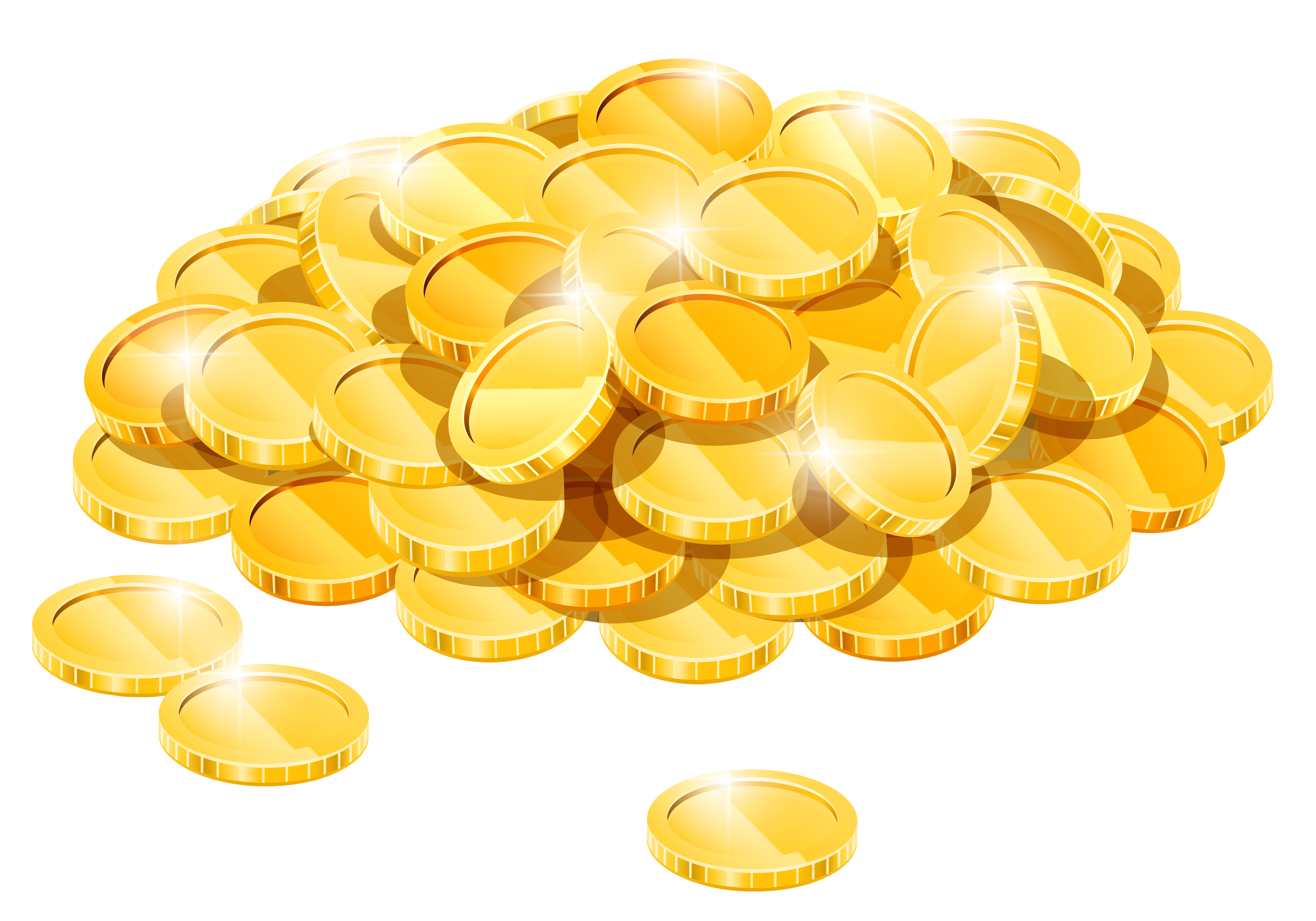 Gold Coins Clipart - Gallery
