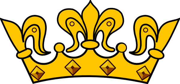 Gold Crown Clip Art At Clker .