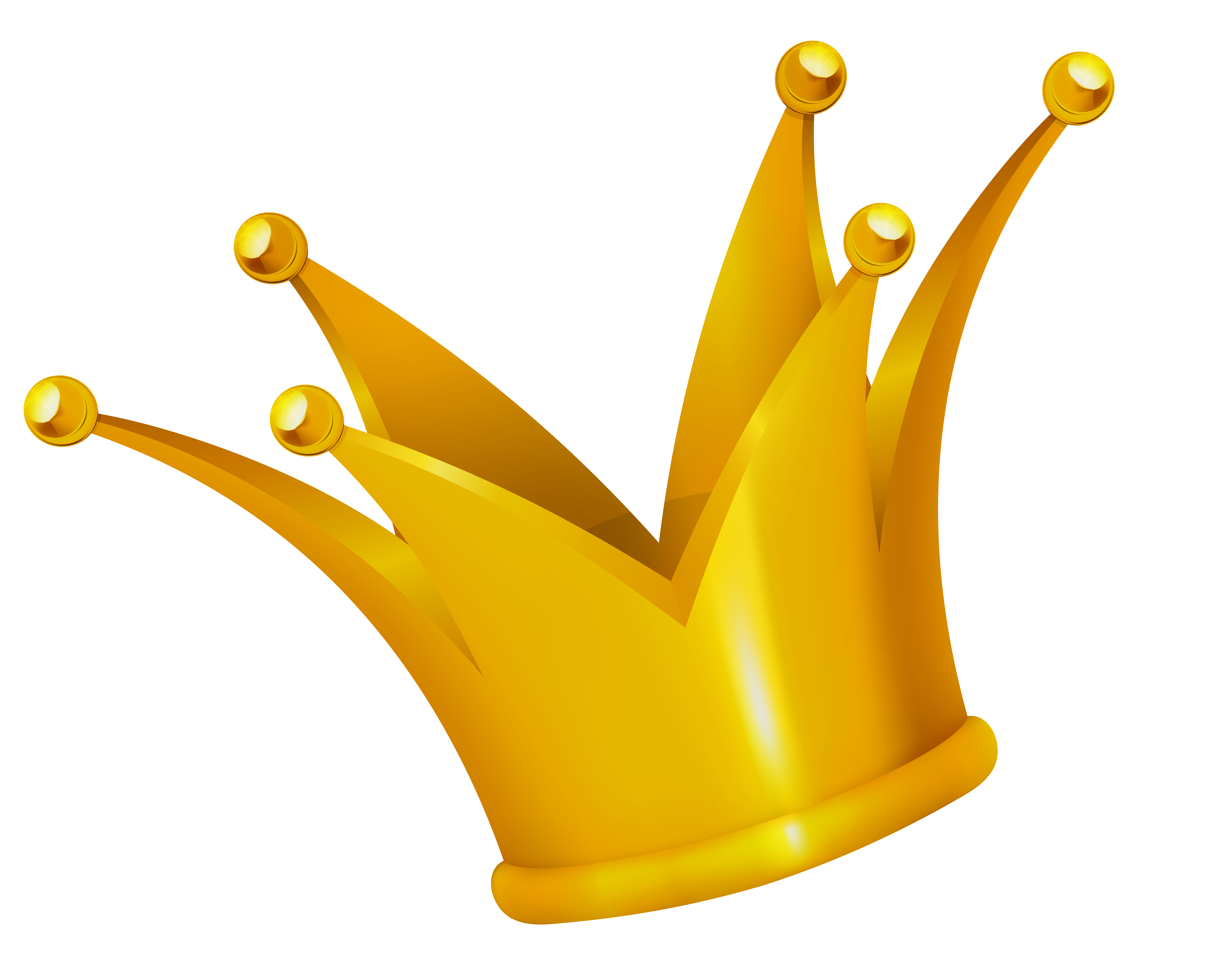 Gold Crown Clipart Picture-Gold Crown Clipart Picture-11