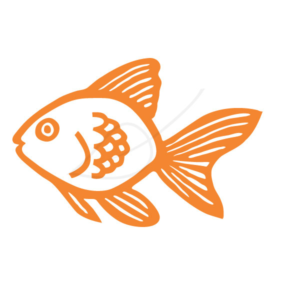 Gold Fish Clip Art Goldfish .-Gold Fish Clip Art Goldfish .-12