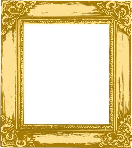 Gold frame clip art - .