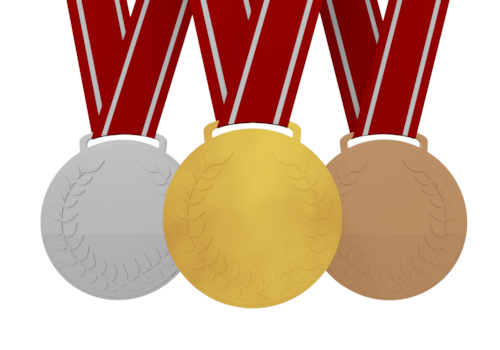 Gold medal / Clip art free .