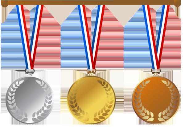 Gold Medal Clip Art - .-Gold Medal Clip Art - .-10