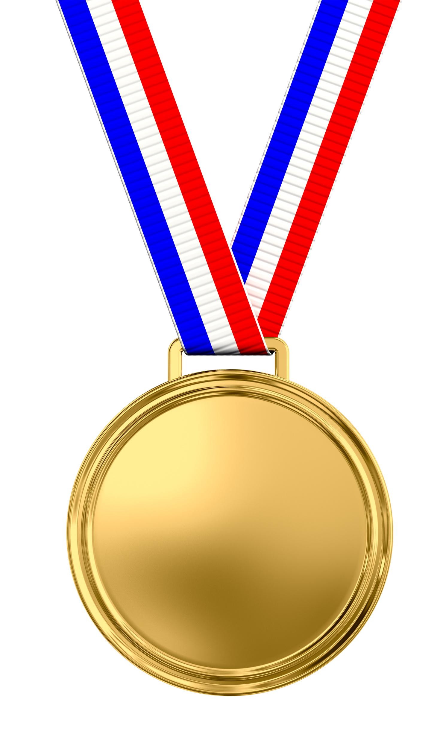 Gold Medal Clipart #1-Gold Medal Clipart #1-0