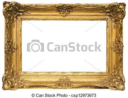 Gold Plated Wooden Picture .