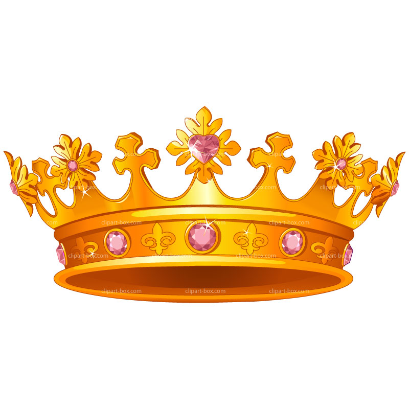 Gold Queen Crown Clipart