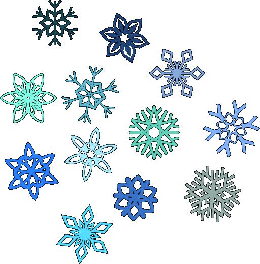 Gold Snowflake Clip Art Snowflakes