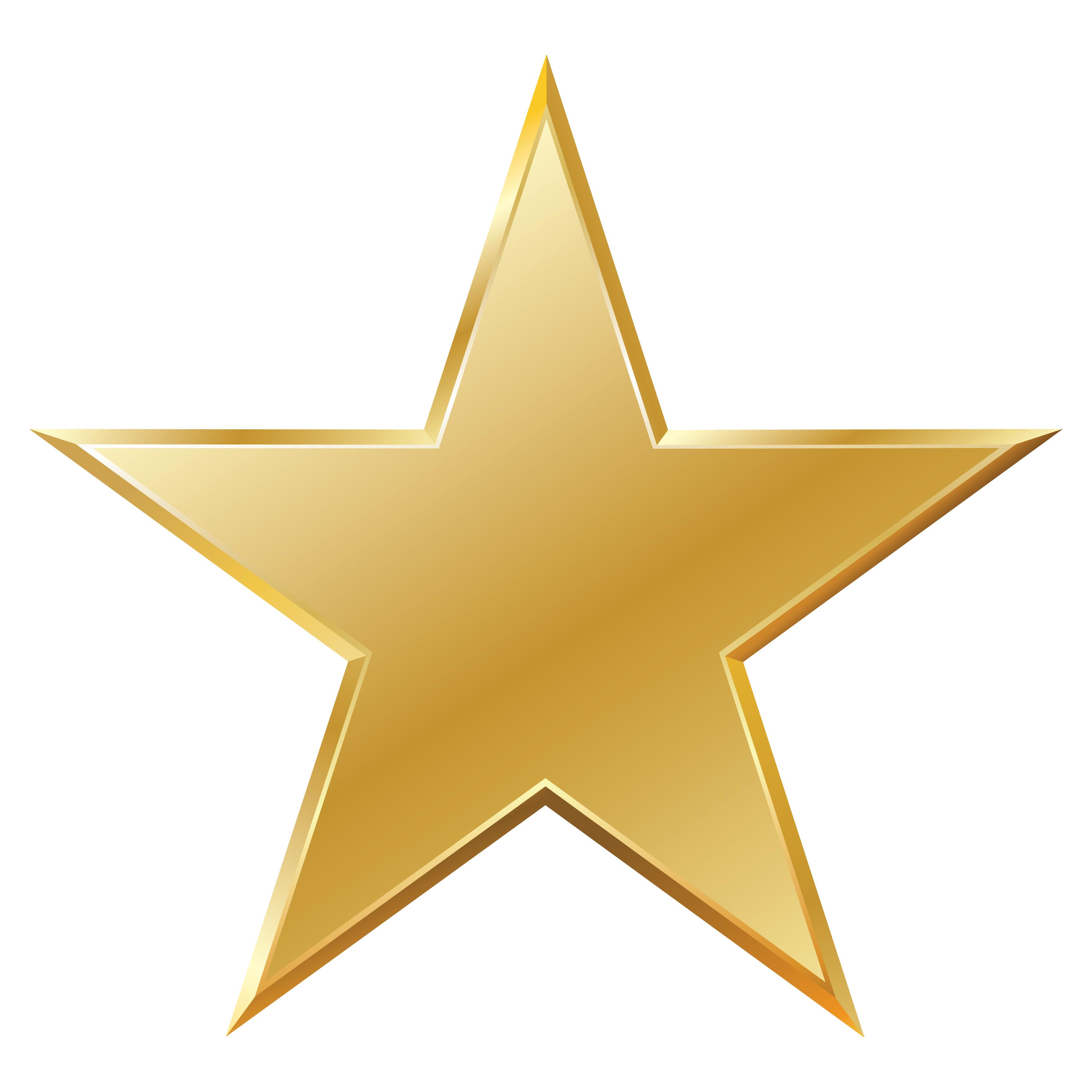 Gold Star Clip Art-Gold Star Clip Art-4