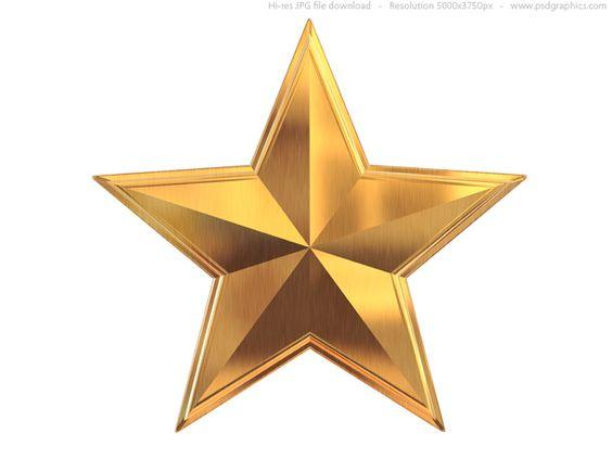 gold star clip art | Gold sta - Gold Star Clipart