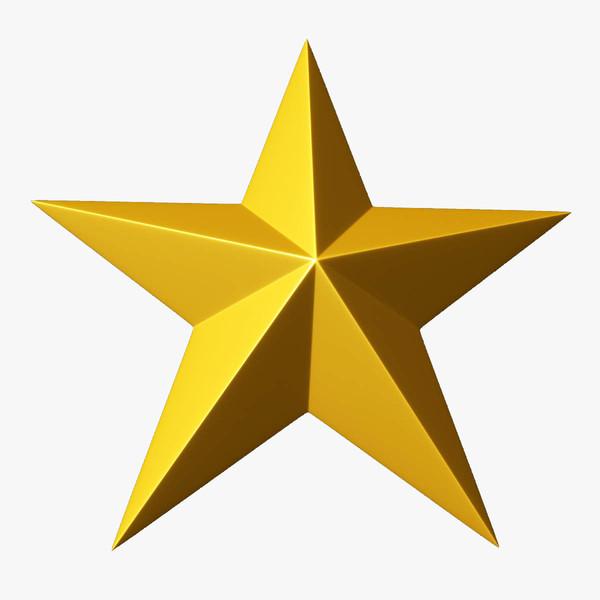 Gold Star Clipart-Gold Star Clipart-11