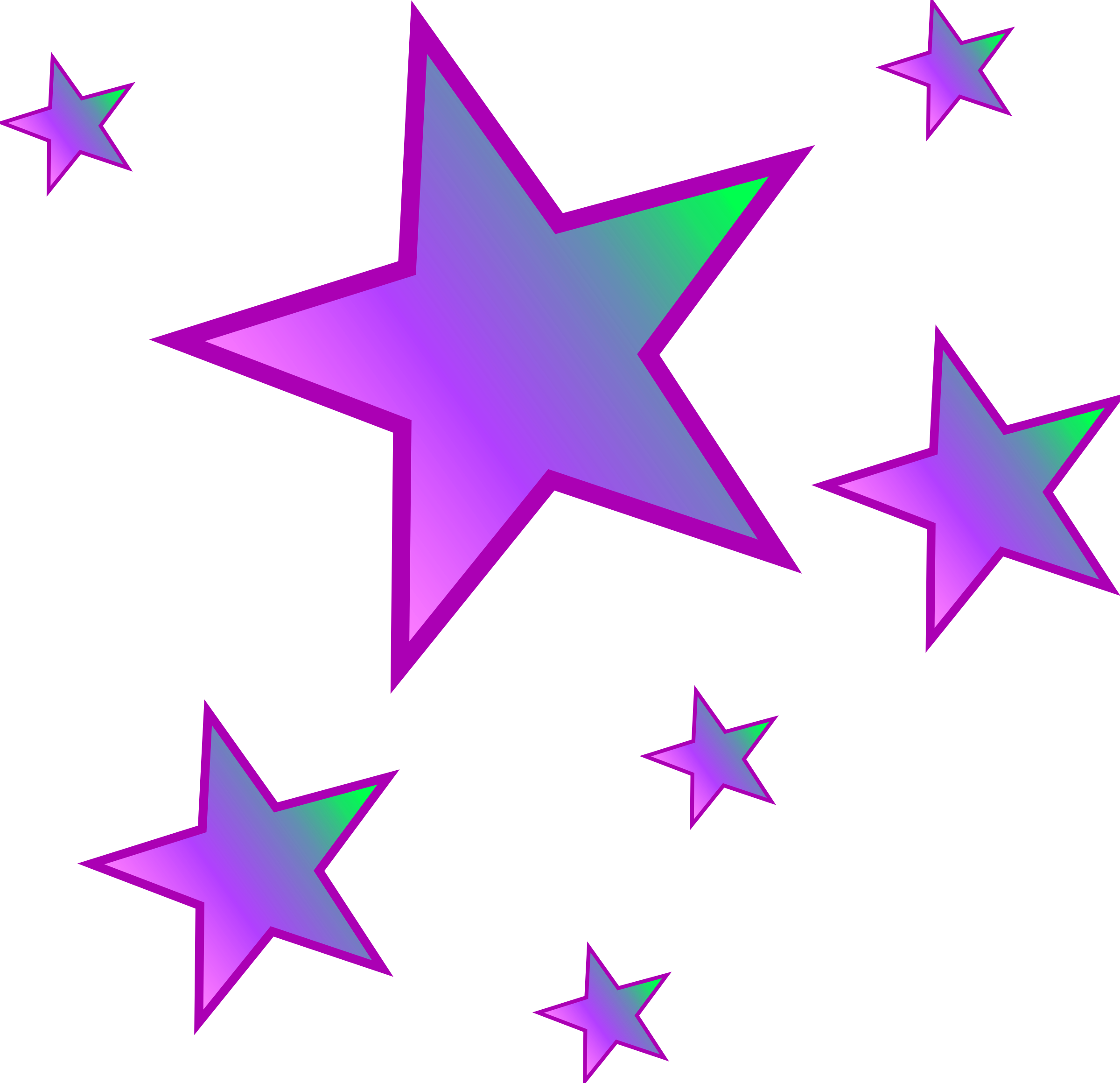 Gold star star clipart and .