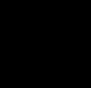 Goldberg Swirl Black Clip Art