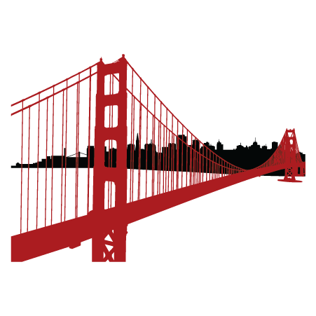 Golden Gate Bridge Clipart .