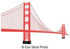 Golden Gate Bridge Vector Clipartby cteconsulting2/103; golden gate bridge - vector silhouette of golden gate bridge... ...