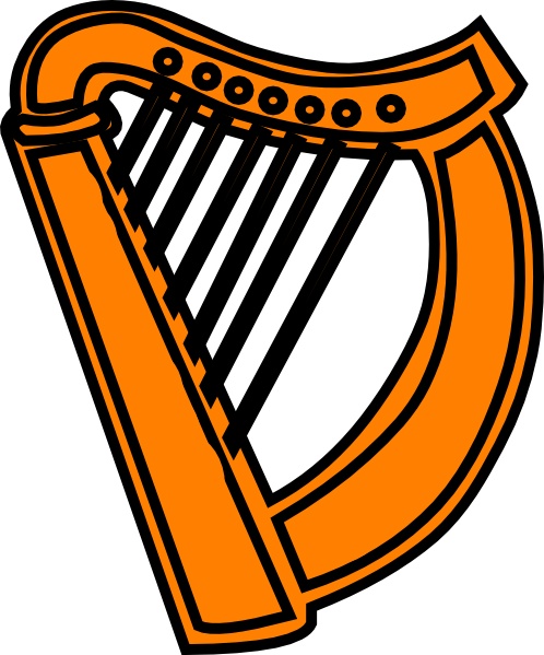 Golden Harp Royal Clip Art At ..