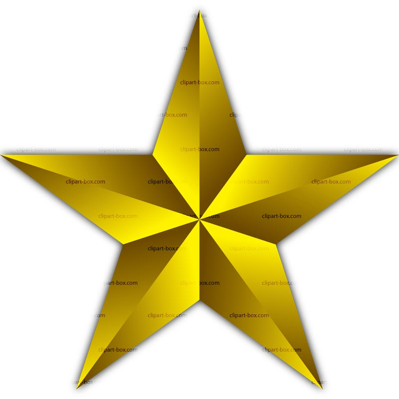 Golden star clipart cliparts .-Golden star clipart cliparts .-15