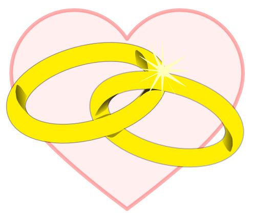 Golden Wedding Anniversary Clip Art Clipart Best