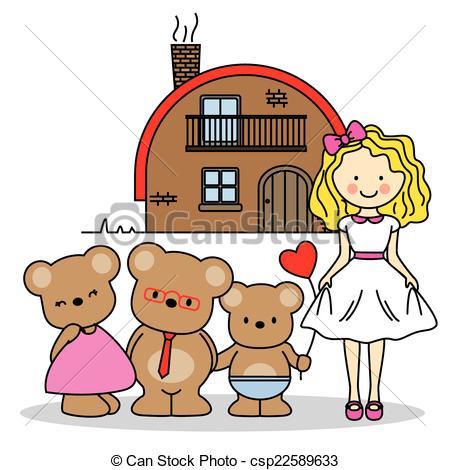 Goldilocks. Childrenu0026#39;s Story - C-Goldilocks. childrenu0026#39;s story - csp22589633-12