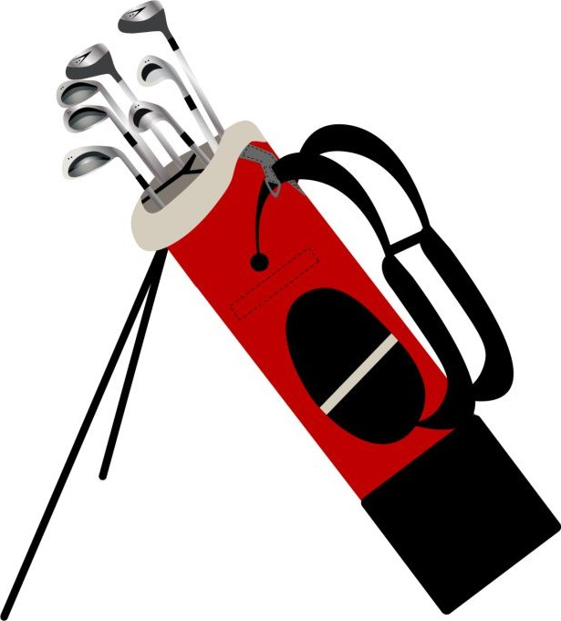 Golf Bag Clipart