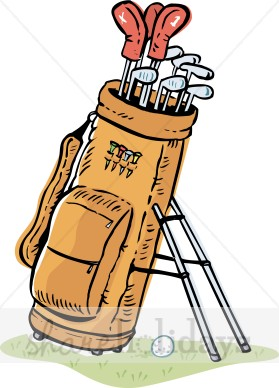 Golf Bag Clipart Party Clipart Backgrounds