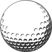 Golf Ball Clipart #1