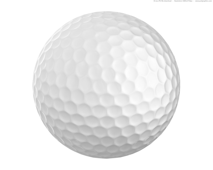 Golf ball clipart 2
