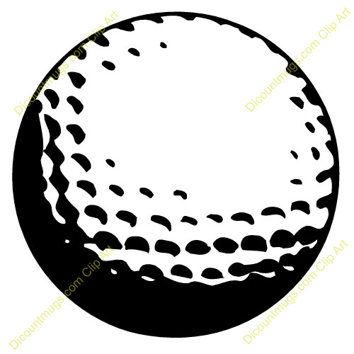 Golf Ball On Tee Clip Art