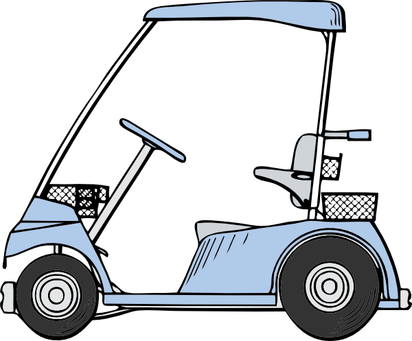 Golf Cart Clip Art At Clker Com Vector Clip Art Online Royalty Free