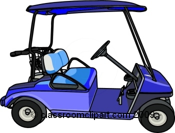 Golf Cart Clip Art Free Vector Download