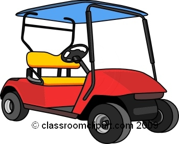 golf cart on golf course. Size: 82 Kb From: Golf Clipart
