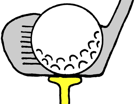 Golf clipart black and white free images