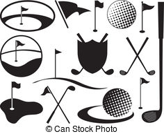 Golf Clubs - Golf Clipart