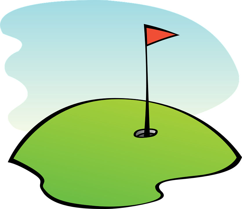 Golf, Course, Golfing, Lawn, Grass