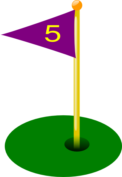 Golf Flag Clip Art-Golf Flag Clip Art-8