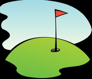 golfing clipart