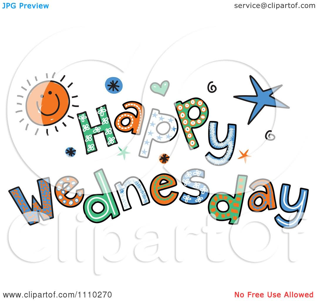 Good Afternoon Clip Art Happy Wednesday Clipart