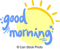 Good afternoon banner Stock Illustrationby cubrazol0/129 Good morning -  Creative design of good morning