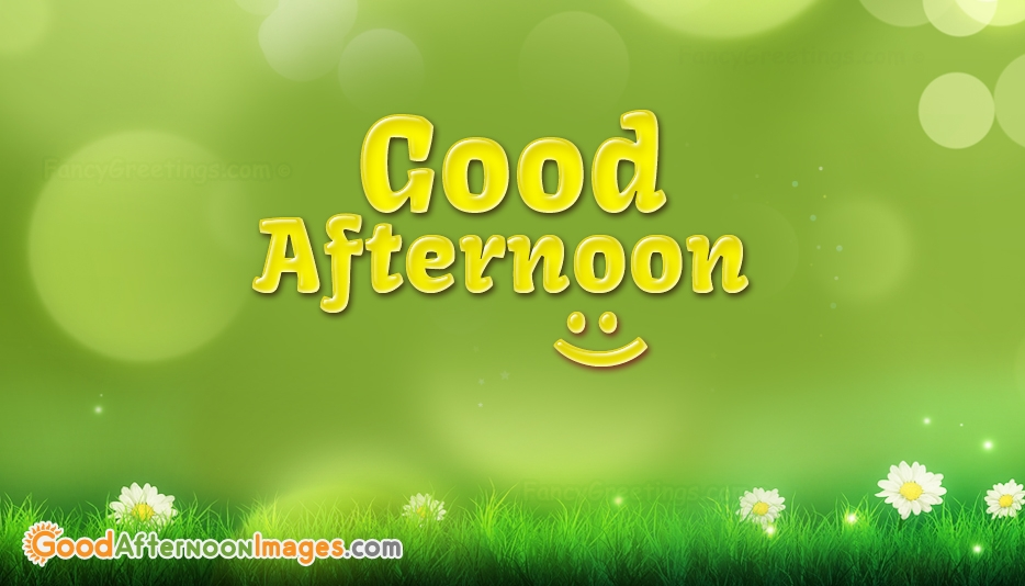 Good Afternoon Clipart - Good Afternoon Images for Friends