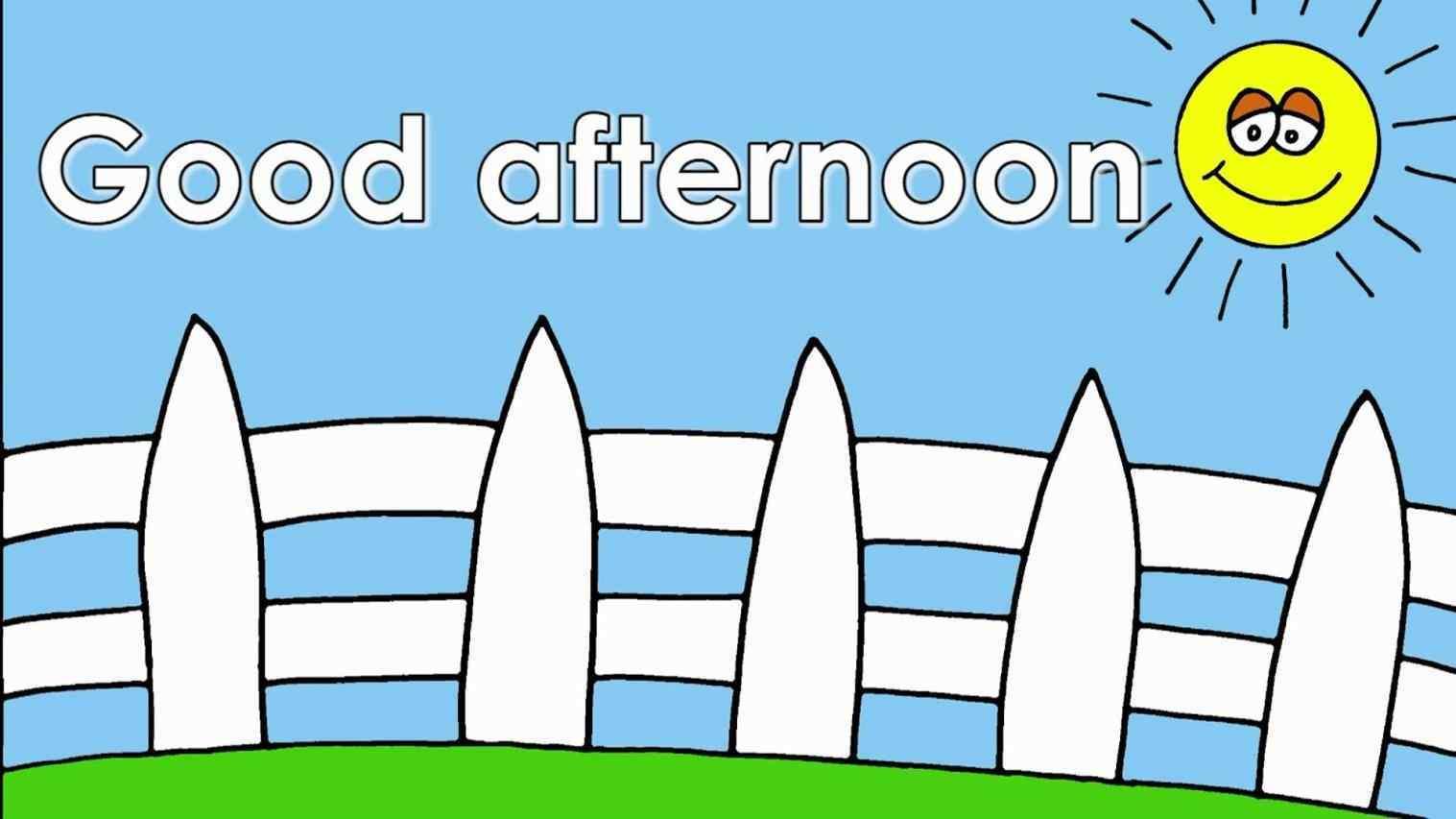 Good good afternoon clipart afternoon clipart stationrhclipartstationcom  free download best rhclipartmagcom good good afternoon clipart afternoon