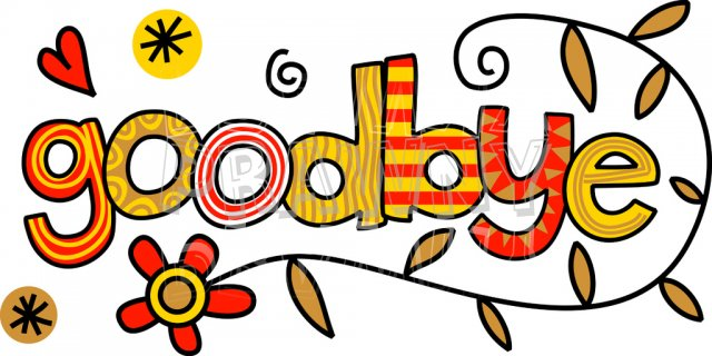 Free Clipart Goodbye Clipart