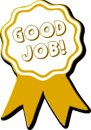 Good job award clipart - .